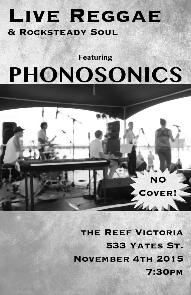 phonosonics reef november 2015
